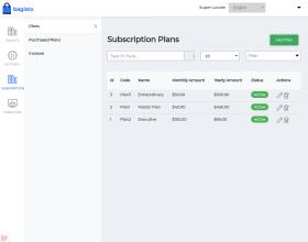 eCommerce SaaS Subscription   Bagisto Laravel Membership