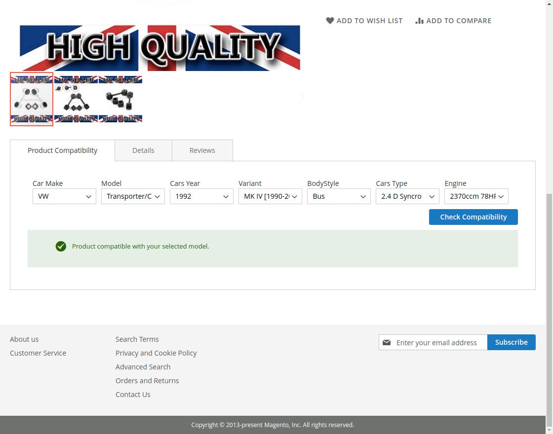 Magento 2 Ebay Item Compatibility Import Ebay Parts Compatible Listings Webkul