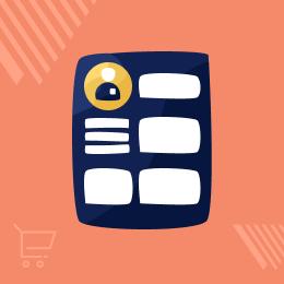 CS-Cart Customer Profile Page