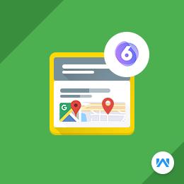 Shopware 6 Google Maps Pin Address