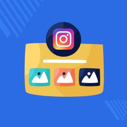 Odoo Instagram Snippet
