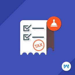 Odoo Invoice Tax Stamp