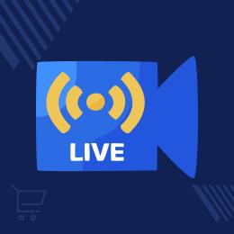 Live Stream Module for Magento 2