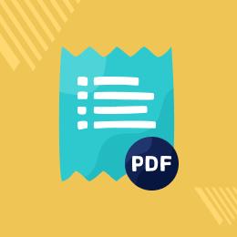 Magento 2 Invoice PDF Editor