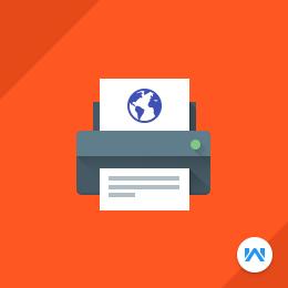 Magento Web To Print