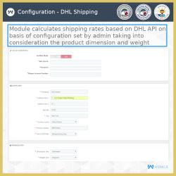 Prestashop DHL Shipping