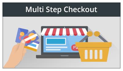 multi step checkout