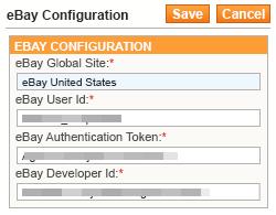 ebay configuration