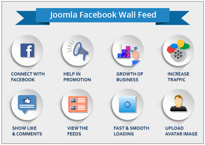 Joomla Facebook Wall Feed