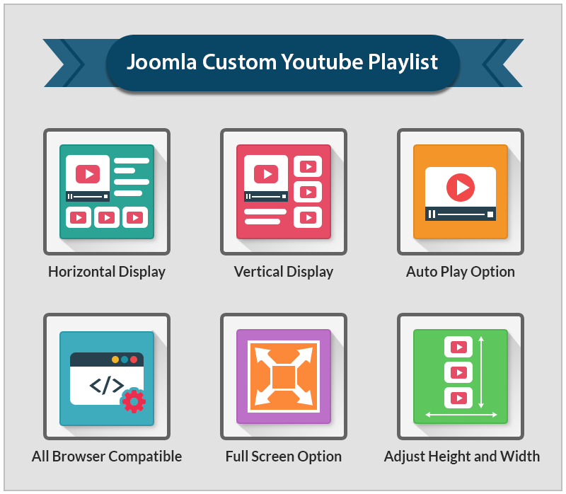 Joomla Custom Youtube Playlist