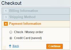 split cart payment process