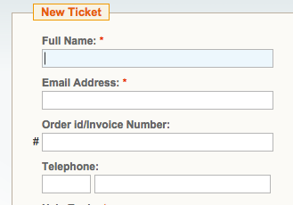 helpdesk new ticket