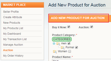 magento marketplace auction